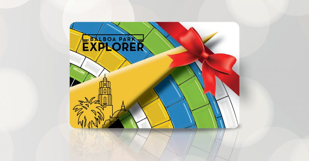 Gift a Balboa Park Explorer Annual Pass this Holiday Season